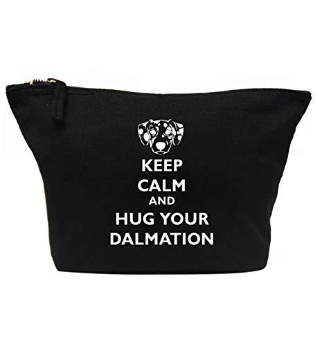 Flox Creative Trousse de maquillage Keep Calm Hug Dalmatien