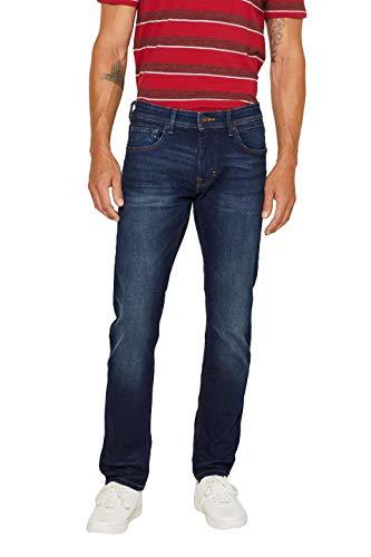 edc by ESPRIT Herren 998Cc2B819 Slim Jeans, Blau (Blue Dark Wash 901), W34/L34 (Herstellergröße: 34/34)