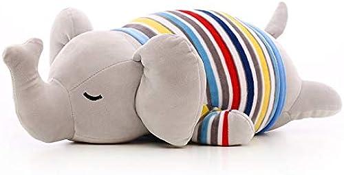 AOTE-D Plüschtiere Elefanten in Kleidung Weißher Komfort Weißhe Füllstoffe Geschenke 95cm