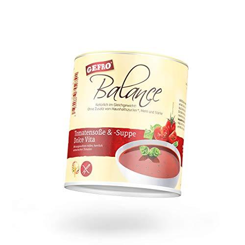GEFRO Balance Tomatensuppe & -soße Dolce Vita, auch als Soßenbinder oder für Eintopf (350g)