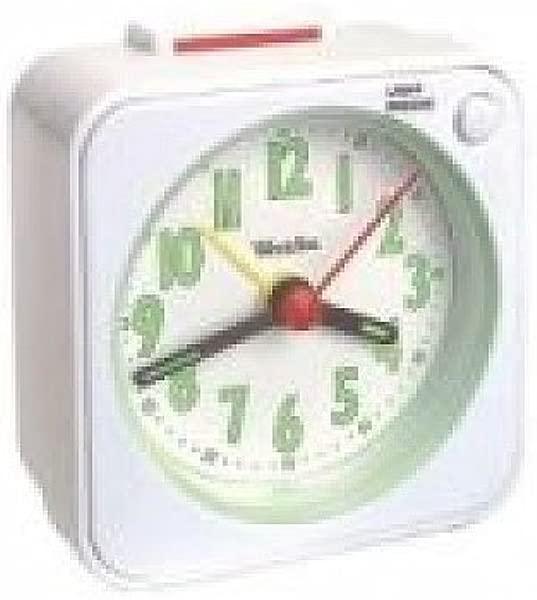 Westclox Gen Quartz Travel Alarm White