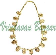 VRINDAVANBAZAAR.COM Maha Mantra 16 Leaf Pure tulsi Kanthi