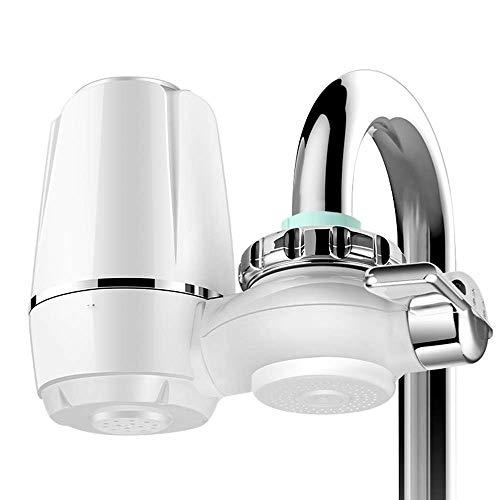 LYYJIAJU Dual Outlet Intelligence Kraan Mount Filter Tap Water Purifier Keukenkraan Wasbare Percolator Mini Water Met 4 Vervangend Filter