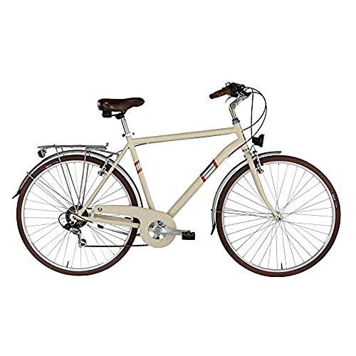 """Alpina Bike Roxy, Bicicletta Trekking 6v Uomo, Crema, 28"""" 500 mm"""