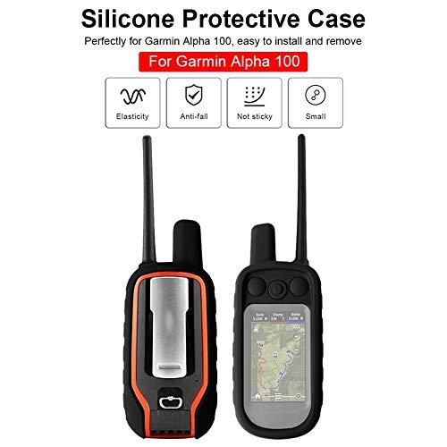 Heoolstranger - Funda de silicona para Garmin Alpha 100 Handheld GPS