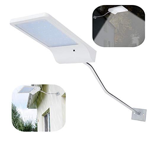 LED zonne-energie lamp licht, 30LED wandkandelaars montage buiten waterdichte tuin muur zonne-licht verlichting met staaf voor tuin binnenplaats schuur veranda