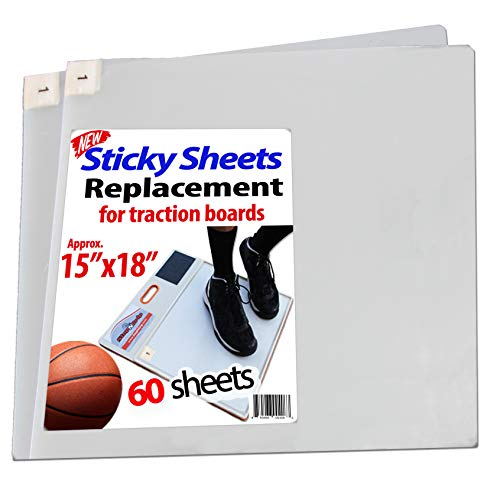 StepNGrip Basketball and Volleyball Sticky Pad Replacement Sheets