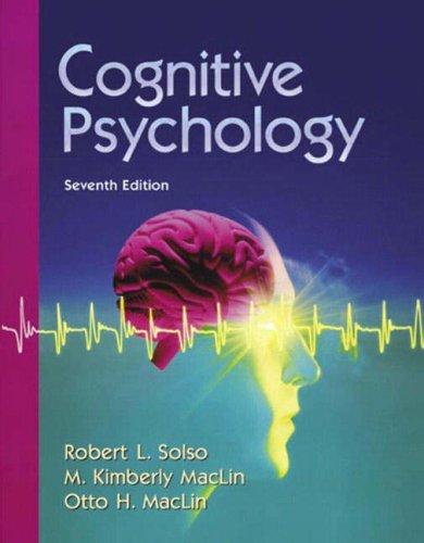 Cognitive Psychology (7th Edition)