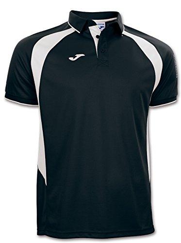 Joma – Polo Champion III Negro-Blanco m/c pour Homme, 100018.102.6XS, Noir-Blanc - 102, 6XS