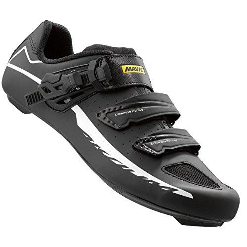 Mavic Aksium Elite II Schuhe, Schwarz/Weiß, Größe 38