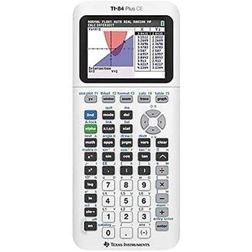 Texas Instruments TI-84 Plus CE - Calcolatrice grafica a colori Infradito colorati estivi, con finte perline