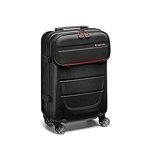 Manfrotto Reloader Spin-55 Pro Light Convertible Camera Bag,Camera Roller Bag 2 in 1,Backpack for CSC,DSLR,Professional Reflex,Holds up to 2 Camera Bodies and Lenses,PC 15'