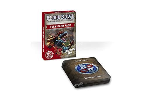 Warhammer Blood Bowl - Lizardmen Team Card Pack: Lizardmen EN