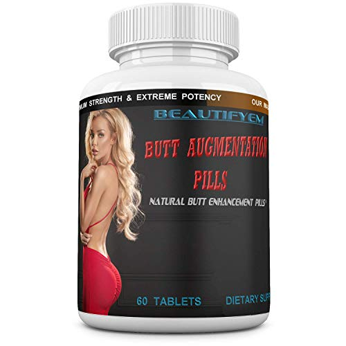 Butt Augmentation Pills Booty Enlargement, Butt Enhancement. Butt Enhancer Pills. Butt Growth with no Need for a Butt Cream. Natural Bigger Glutes. 60 Tablets