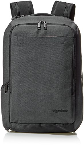 Amazon Basics Slim Carry On Travel Backpack, Black - Overnigh