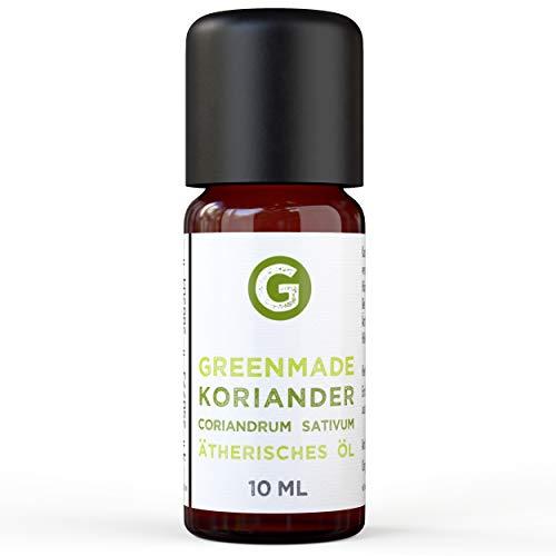 Greenmade - Olio essenziale di coriandolo, 10 ml, 100% naturale