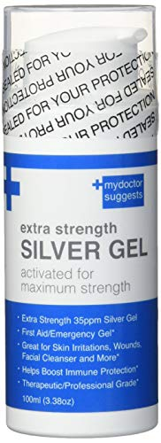 Silver Gel Extra Strong- 35ppm Advanced Silver Gel, Nature's Colloidal Clear Relief