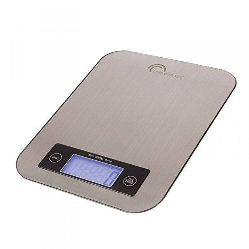 Little Balance Slim Balance culinaire, 5 kilograms, INOX