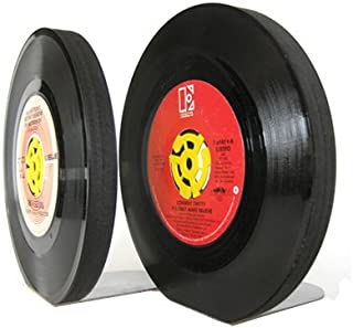 heavy bookends for vinyl records
