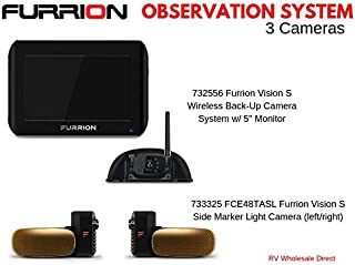 RV Wholesale Direct Furrion Observation Bundle w/5 inch Monitor and 3 Cameras