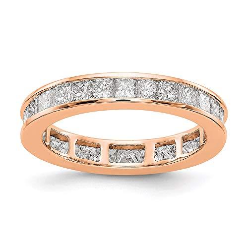 rose gold princess ring pandora