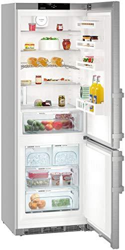 LIEBHERR CNef5745 - Frigorifero freezer, in acciaio INOX, altezza x larghezza: 201 x 70 cm, A+++