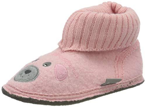 Sterntaler Baby Mädchen Hausschuh Lauflernschuhe, Pink (Pink 5401910), 27/28 EU