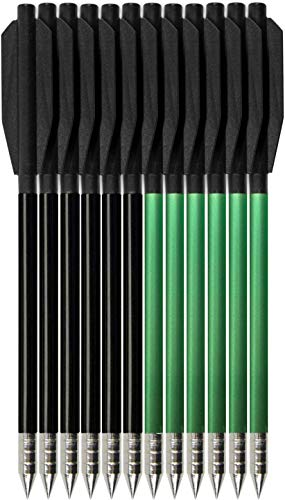 Kavard Mini Armbrustbolzen für die Jagd Metall Armbrustpfeile 6,3