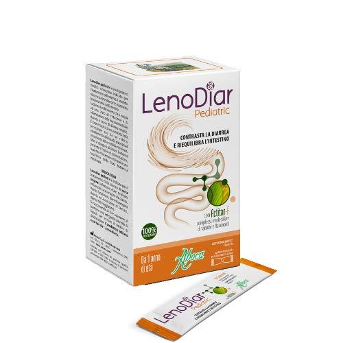 ABOCA LENODIAR PEDIATRIC - Contrasta la diarrea e riequilibra l'intestino 12 BUSTINE