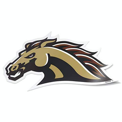 Western Michigan University WMU Broncos Premium Collegiate Car Decal