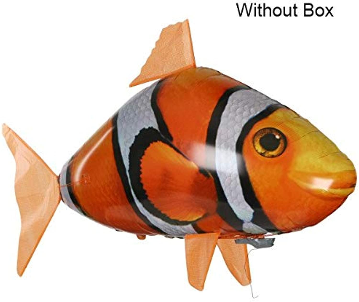 Generic Remote Control Shark Toys Air Swimming Fish Infrared RC Flying Air Balloons Nemo Clown Fish Kids Toys Gifts Party Decoration Toy Fish No Box
