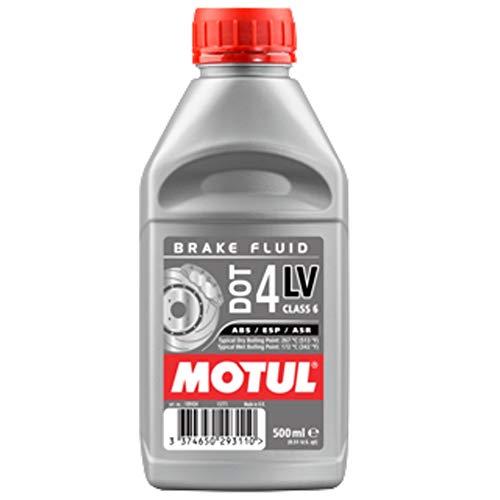 MOTUL - 109434/74 : Aceite hidráulico liquido para frenos HIDRAULICOS DOT 4 BRAKE FLUID 0,5L 500ml