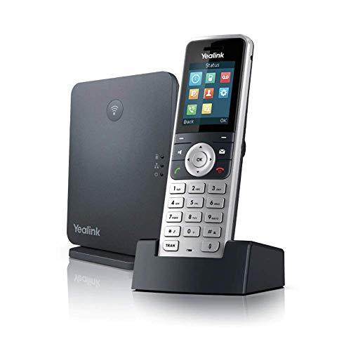 Yealink W53P VOIP Telefone, Schwarz, Silber