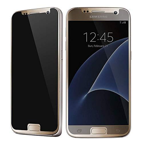GABRIEL Protector de Pantalla para Samsung Galaxy S7, Protector de Pantalla de Cristal Templado antihuellas, antiespía