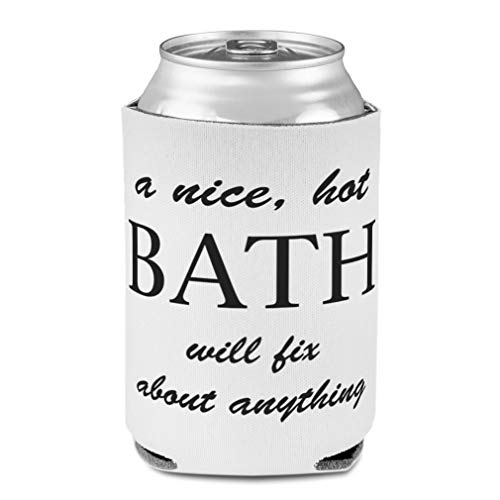 Koozies for Cans Drink Cooler Nice Hot Bath Fix Anything A Take Scuba Foam Party Beer Cover
