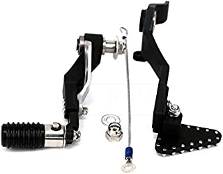 CNC Motorcycle Regolabile Pieghevole del Cambio Leva Shifter Pedal//Adatta for BMW R1200GS LC 2013-2017 2018 R 1200 GS ADV LC 2014-2018 Color : Black