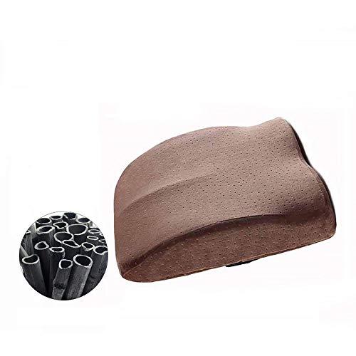 Cnoyz cushion seat Sitzkissen Memory Baumwolle Computer Stuhl Pad Po Pad schöne Po Kissen Büro verdickte Hämorrhoiden Kissen tiefen Kaffee (Bambuskohle)