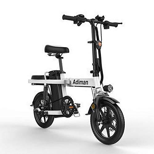 YPYJ Bicicleta Eléctrica Plegable para Adultos, Bicicleta Eléctrica De 15.5 mph con...