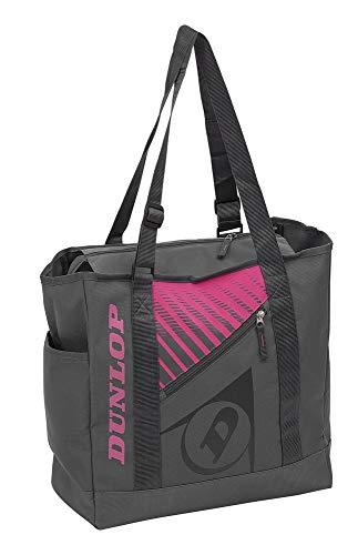 Dunlop Unisex-Adult 10295464 SX Club Tote Bag Gray/pink, Grau/Rosa, One Size