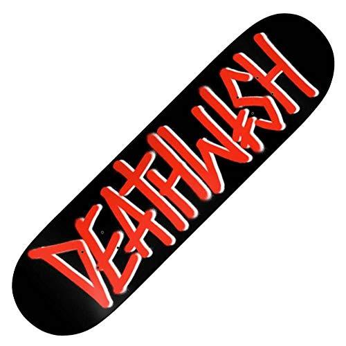 """Deathwish Skateboards Deathspray Deck BLK/RED 8.0"""""""