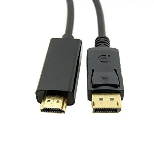 Goliton® Displayport DP a HDMI maschio cavo del convertitore di HDTV ad alta velocità Cavo HDMI 3D per 1.8M