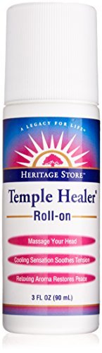 Heritage Store Temple Healer Skin Care Product, Roll-On, 3 Ounce by Heritage