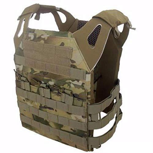 DLP Tactical Phantom Low Profile MOLLE Vest (Multicam)