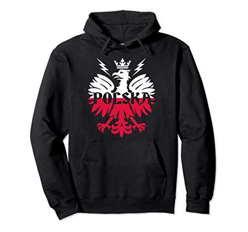 Polish Flag - Polska Eagle - Poland History - Polska Poland Pullover Hoodie
