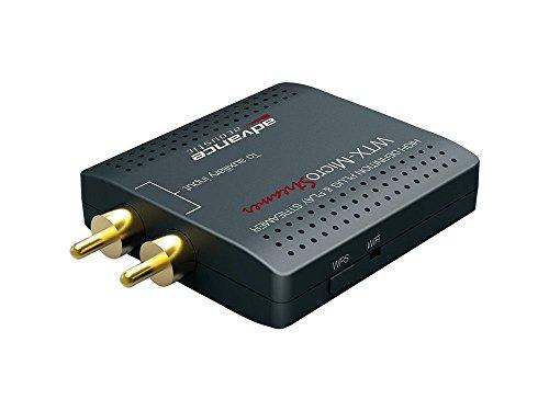 Advance Acoustic WTX MicroStream - Reproductor de Red (24/96), Color Gris