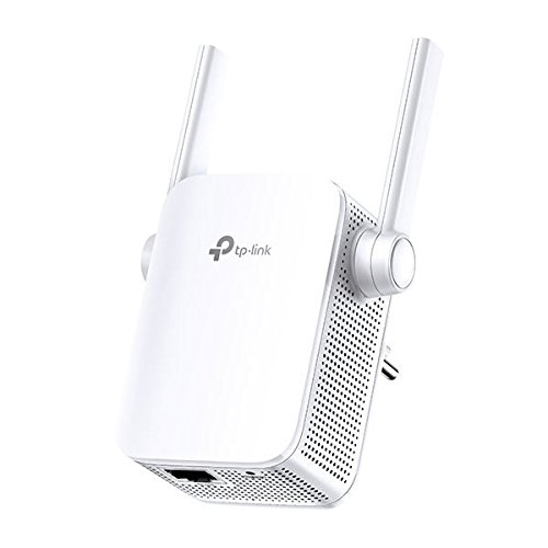 TP-Link AC1200 - Extensor de Red WiFi Inalámbrico, 1200 Mbps con Puerto Ethernet y Doble Banda 5G & 2.4g Hz, Blanco (RE305)