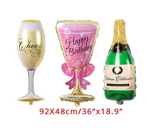 HYTGF Einweggeschirr Bio-Einweg Set Tellern Jubiläum Einweggeschirr Alles Gute zum Geburtstag Partydekorationen Erwachsene 30. Jahre Hängende Strudel Spiral Party 3St
