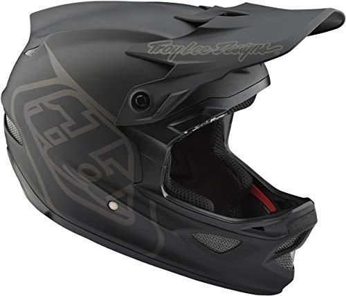 Troy Lee Designs D3 Fiberlite Helm Mono Black Kopfumfang L | 58-59cm 2021 Fahrradhelm