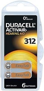 Bateria Auditiva 312 PR41 DURACELL - 60 baterias (10 cartelas)