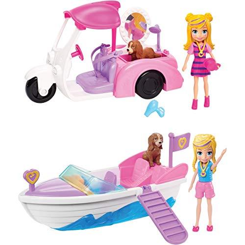 Polly Pocket Veículo e Boneca, Modelos variados, 1 unidade